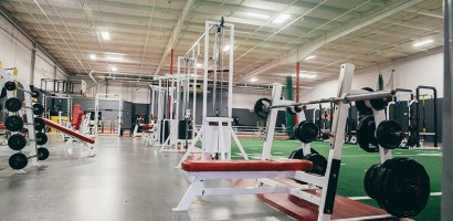 Free weights for group fitness, personal training, sports training programs, and youth sports performance training