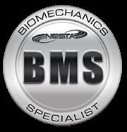 BMS Logo Biomechanics Specialist