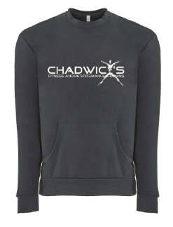 Chadwicks logo on shirt for Personal Training, Group Fitness, Sports Training, Strength & Conditioning Class