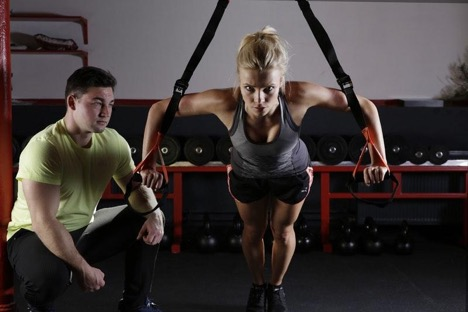 personal trainer at chadwicks fitness